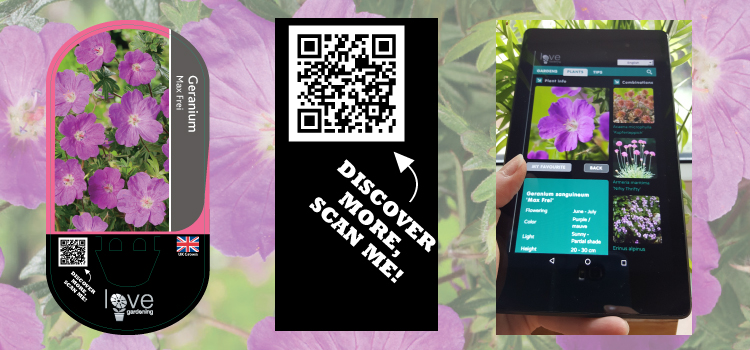 New Plant Labels & QR Codes