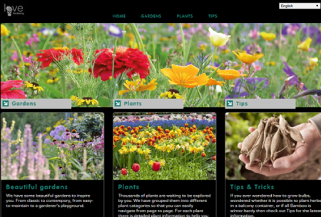 Love Gardening website