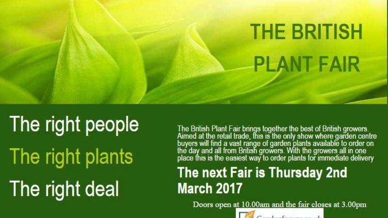 British Plant Fair 2017
