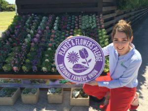 Lovania Aldi NFU Plants and Flowers Pledge